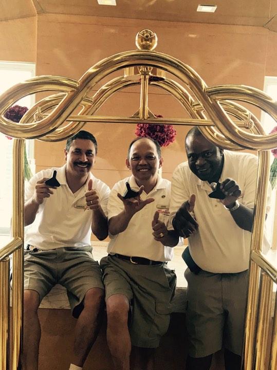 Bellmen at the Tropicana Las Vegas